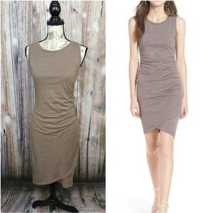 Leith Ruched Tank Dress Body-con Size Large